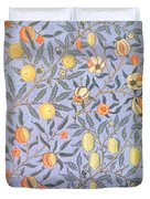 Blue Fruit Duvet Cover