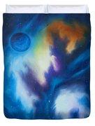 Blue Giant Duvet Cover