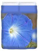 Blue Glories Duvet Cover