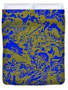 Blue Gold 40 Duvet Cover