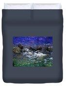 Blue Green Water Duvet Cover