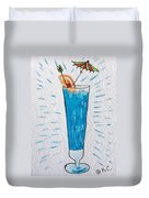 Blue Hawaiian Cocktail Duvet Cover
