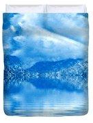 Blue Healing Duvet Cover