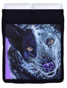 Blue Heeler Duvet Cover