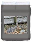 Blue Heron 2 Duvet Cover