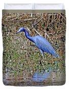Blue Heron Louisiana Duvet Cover