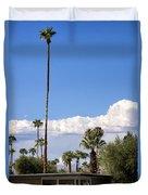 Blue Horizon Palm Springs Duvet Cover