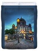 Blue Hour Dom Duvet Cover