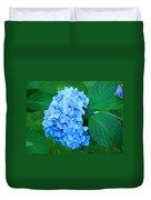 Blue Hydrangea Flower Art Prints Nature Floral Duvet Cover