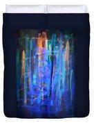 Blue Impression Duvet Cover