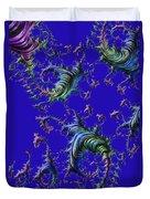 Blue Joy Duvet Cover