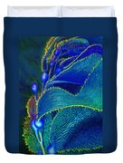 Blue Kelp Duvet Cover