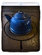 Blue Kettle Duvet Cover