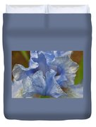 Blue Lilac Iris Duvet Cover