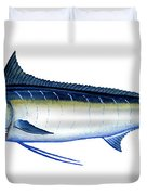 Blue Marlin Duvet Cover