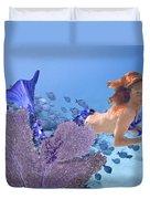 Blue Mermaid Duvet Cover