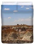 Blue Mesa - Painted Desert Duvet Cover