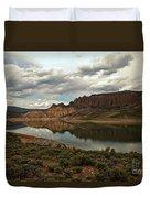 Blue Mesa Reservoir Duvet Cover