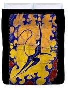 Blue Monkey No. 13 Duvet Cover
