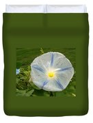 Spectacular Blue Morning Glory Duvet Cover