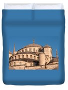 Blue Mosque Domes 05 Duvet Cover