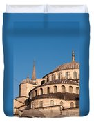 Blue Mosque Domes 07 Duvet Cover