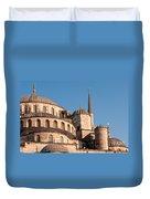 Blue Mosque Domes 08 Duvet Cover