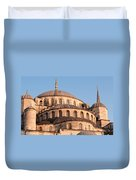 Blue Mosque Domes 09 Duvet Cover
