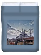 Blue Mosque In Istanbul Duvet Cover