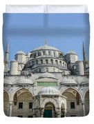 Blue Mosque In Istanbul Turkey Duvet Cover