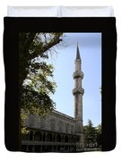 Blue Mosque Minaret Duvet Cover