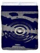 Blue Motion Duvet Cover