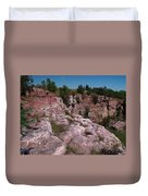 Blue Mounds Quarry Duvet Cover