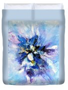 Blue Mystery Duvet Cover