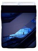 Mysterious Blue Duvet Cover