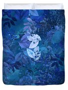 Blue - Natural Abstract Series Duvet Cover