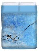 Blue Nile Lizard Duvet Cover