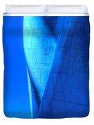 Blue On Blue Cropped Version Duvet Cover