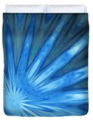Blue Rays Duvet Cover