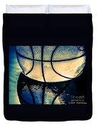 Blue Basketball Duvet Cover