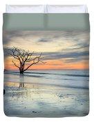 Blue Reverence Charleston Sc Ocean Sunrise Duvet Cover