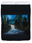 Mountain Falls Duvet Cover