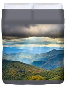 Blue Ridge Glory Duvet Cover