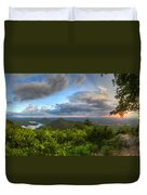 Blue Ridge Mountains Panorama Duvet Cover