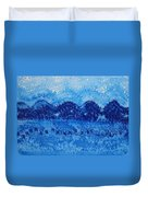 Blue Ridge Original Painting Duvet Cover