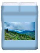 Blue Ridge Parkway National Park Sunrise Scenic Mountains Summer Duvet Cover