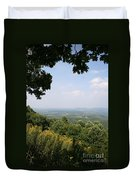 Blue Ridge Parkway Scenic View Duvet Cover