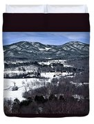 Blue Ridge Vista Duvet Cover