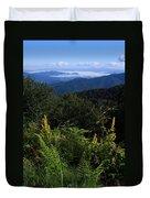 Blue Ridge Vista Duvet Cover