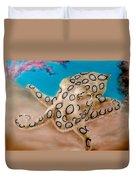 Blue Ringed Octopus I Duvet Cover